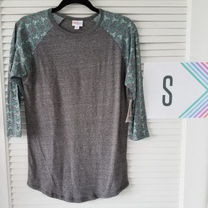 RandyT-Gray/Green/Periwinkle Sleeves